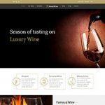 Premium Moto Theme Luxury Wine