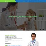 Premium Moto Theme Medical Health