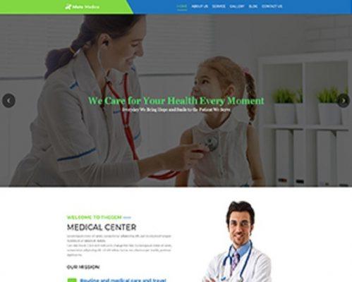Premium Moto Theme Medical Health