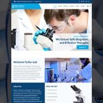 Premium Moto Theme Pathology and Diagnostics