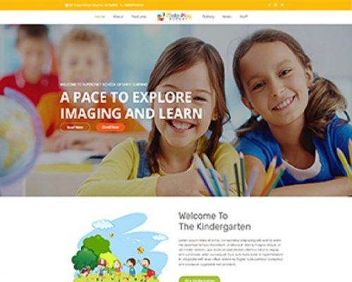 Premium Moto Theme Play School 1