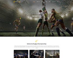 Premium Moto Theme Rugby Club 1