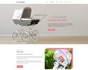 Premium Moto Theme Stroller