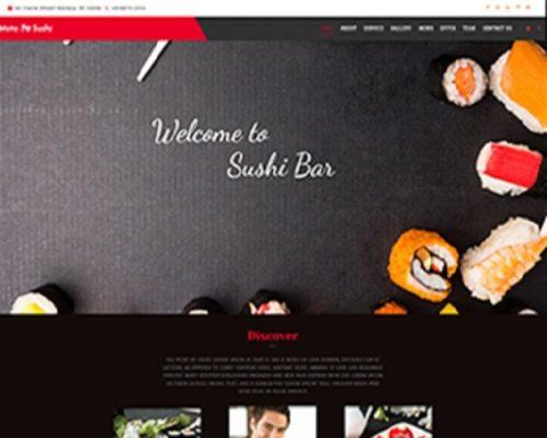 Premium Moto Theme Sushi Bar