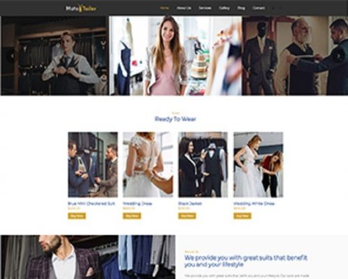 Premium Moto Theme Tailor Shop 1
