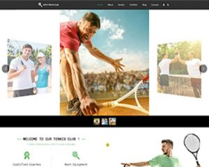 Premium Moto Theme Tennis Club 1