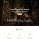 Premium Moto Theme Tree Services