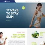 Premium Moto Theme Weight Loss Blog