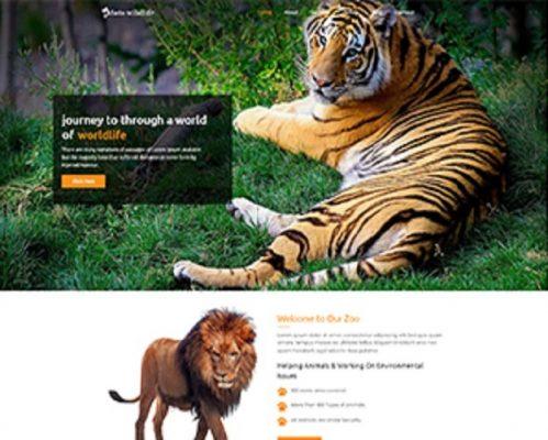Premium Moto Theme Wild Zoo 1