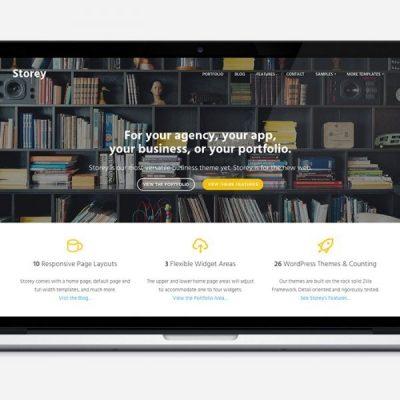 ThemeZilla Storey WordPress Theme