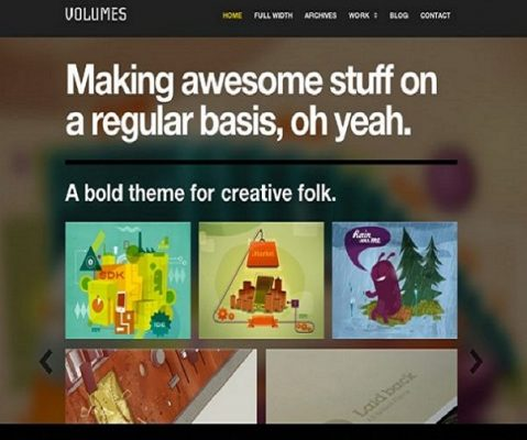 ThemeZilla Volumes WordPress Theme