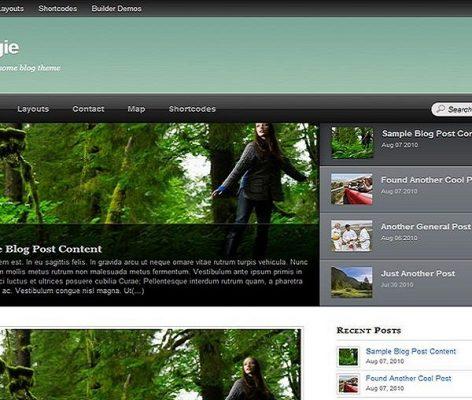 Themify Bloggie WordPress Theme