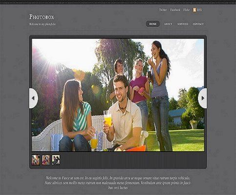 Themify Photobox WordPress Theme